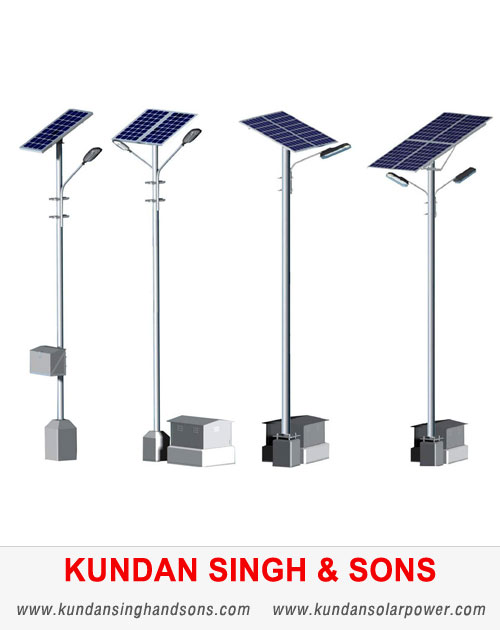 Solar Power Street Lights